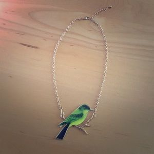 Jewelry - bird statement necklace